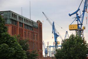Das Werfthauptgebäude