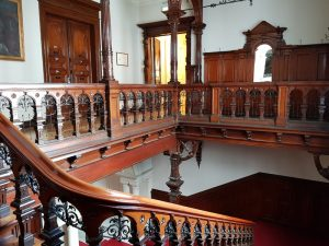 Historischer Treppenaufgang