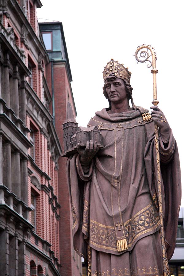 Bischof Ansgar von Bremen
