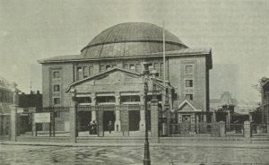 Alter Elbtunnel Eingang Steinwörder 1912