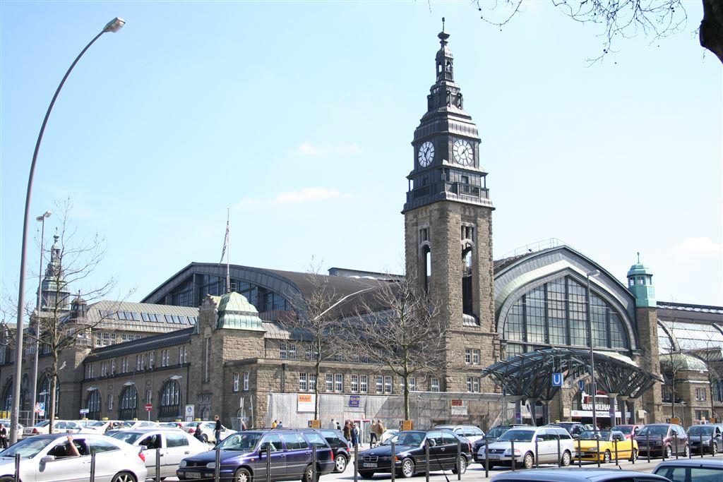 Photo of Hauptbahnhof Hamburg 1903 als Ersatz für damaligen 4 Hamburger Bahnhöfe gebaut