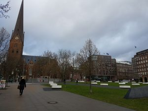 Doomplatz mit St. Petri Kirche