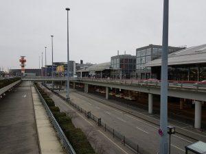 Radar, Terminal 2 und Plaza