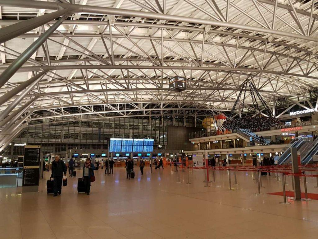 Terminal 1 innen