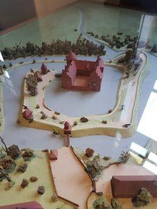 Modelle des Wasserschlosses