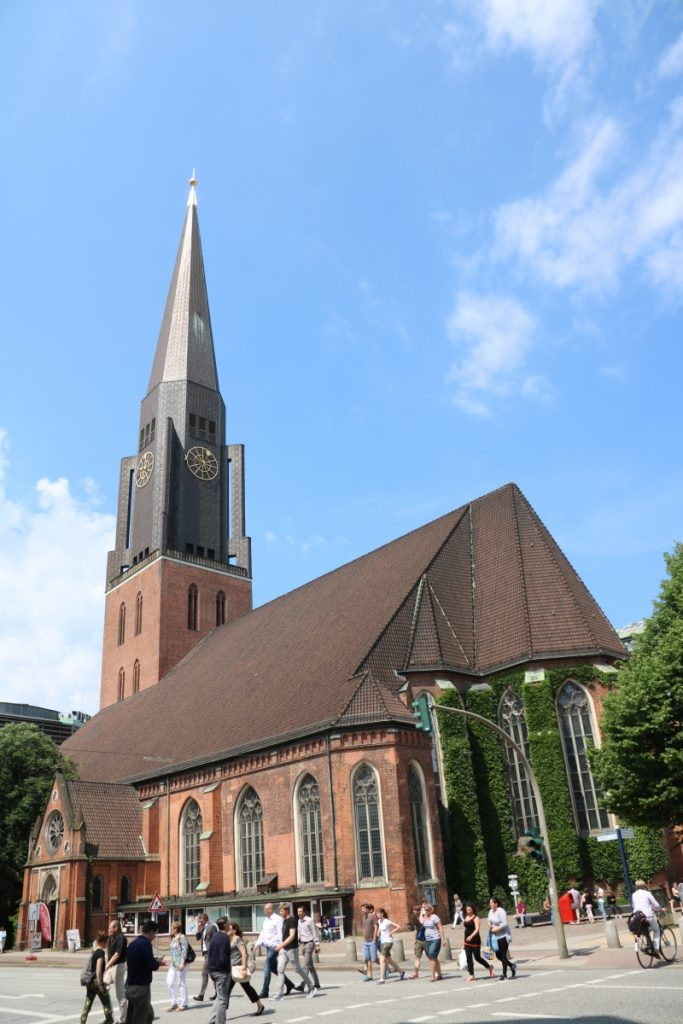 St. Jacobi Kirche an der Steinstraße