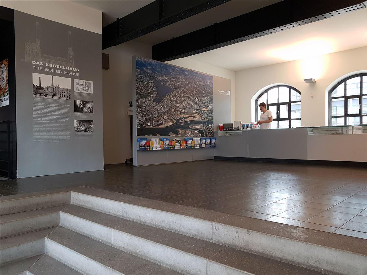 Das historische Kesselhaus in der Hamburger Speicherstadt