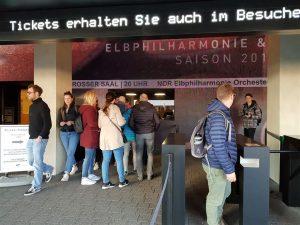 Eingangsbereich und Ticketshop
