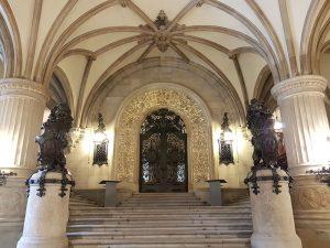 Dielenaufgang zum Hamburger Senat