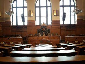 Plenarsaal der Bürgerschaft