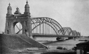 Budelmütze - Harburger Elbbrücke 1907