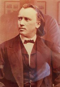 Brahms um 1874